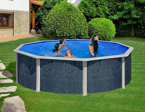 Pontaqua földfeletti családi kerti medence