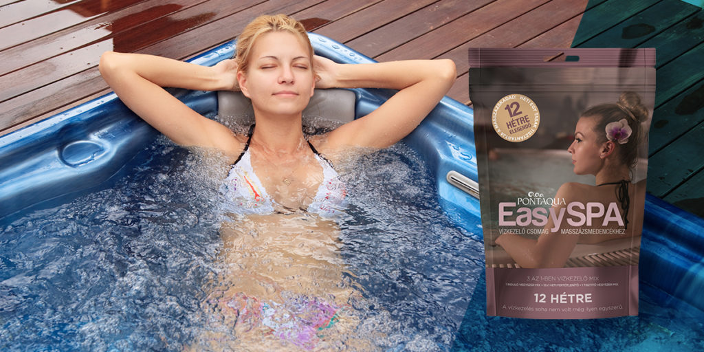 Pontaqua Easy Spa masszázsmedence és jacuzzi vegyszer csomag